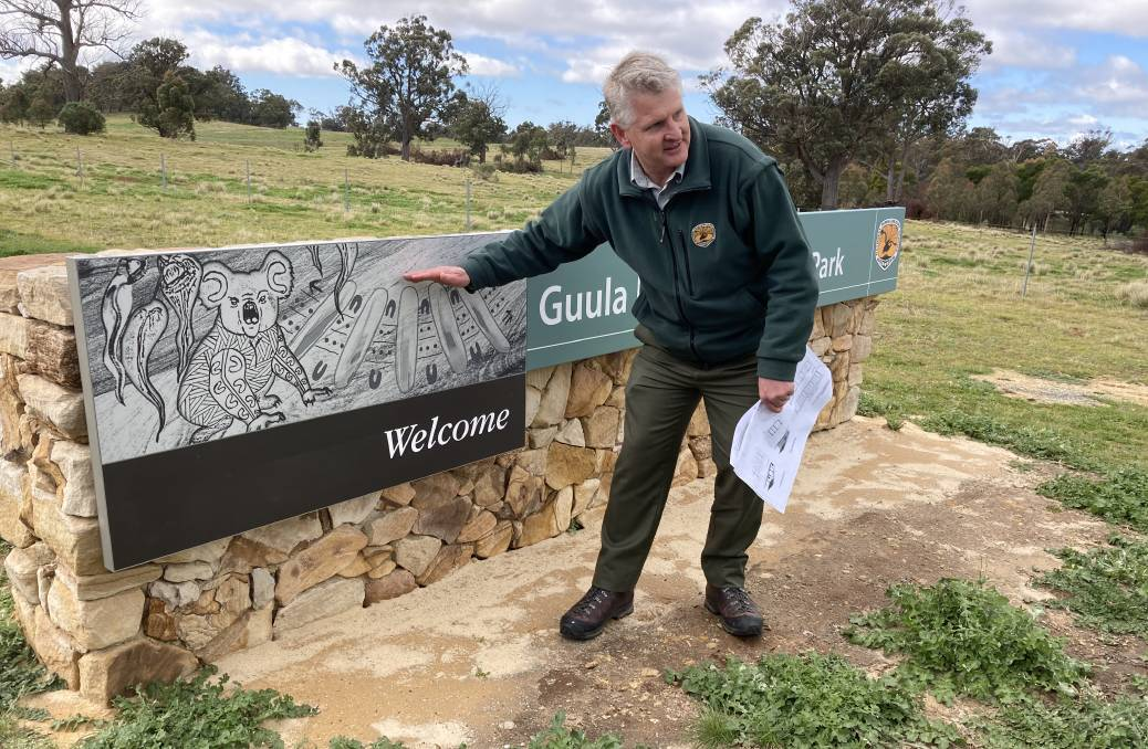 NSW National Parks and Wildlife Service area manager Glenn Meade said the creation of Guula Ngurra National Park