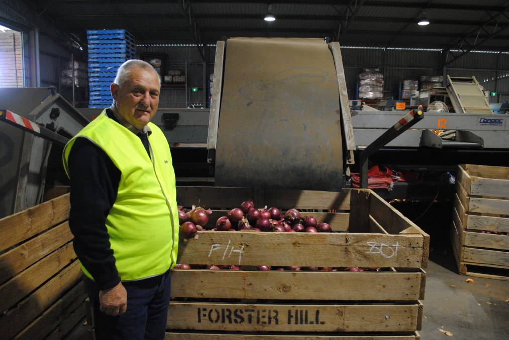Stronger collective: Rivapak Onions director Gordon McKerlie believes the formation of the Murraylands Food Alliance will better the entire region.